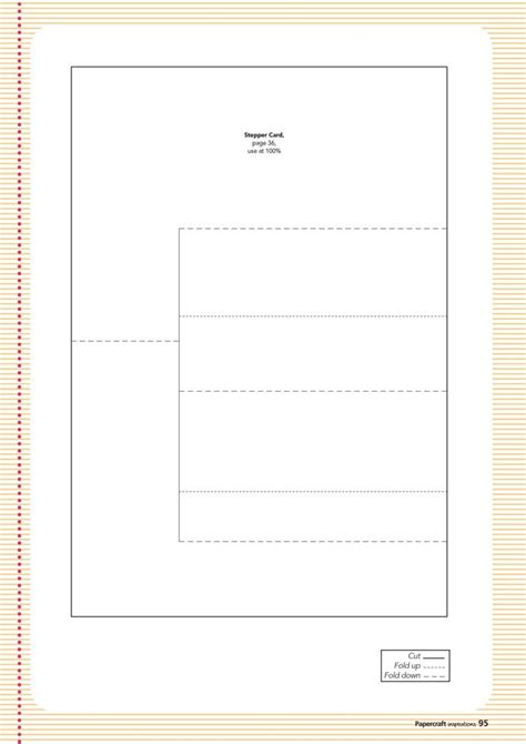 Card Templates Mse by 19 Best A Stepper Card Template Images On