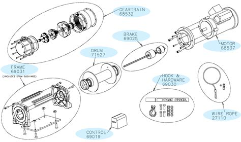 warn winches wiring diagram warn free engine image for