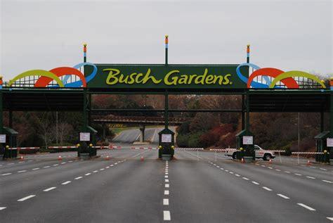 busch gardens williamsburg parking cost