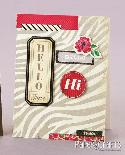 Paper Crafts And Scrapbooking Magazine - 17 best images about cards layered on