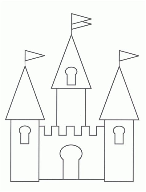 easy cinderella castle coloring coloring pages cartoons coloring pages cinderella castle coloring pages