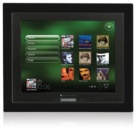 vantage legrand tpt1040 touchscreen in wall controller