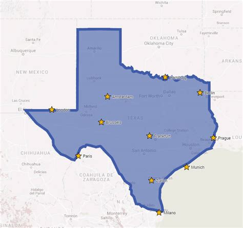 texas map major cities brilliant maps sense of the world one map at a time