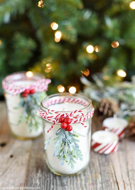 diy christmas mason jar candle allfreechristmascraftscom