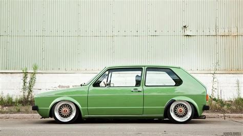 volkswagen rabbit stance vw mk1 rabbit golf love the color and stance it s