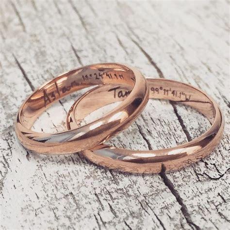 25  best ideas about Matching wedding bands on Pinterest