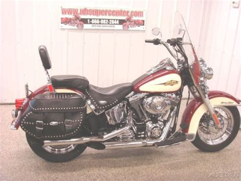 Harley Davidson Factory Custom Paint by 2007 Flstc Heritage Softail Classic 1 Owner Factory Custom