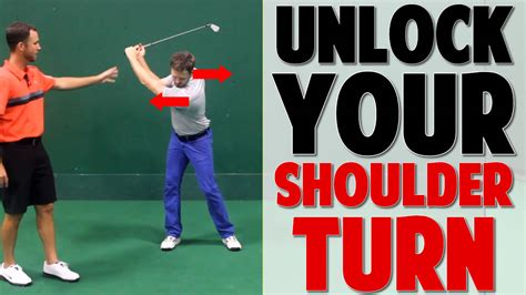 golf swing full shoulder turn 3 1 unlock your golf swing shoulder turn protraction