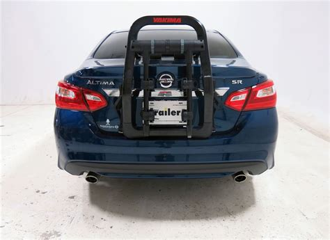 nissan altima 2016 trunk 2016 nissan altima yakima fullback 2 bike rack trunk