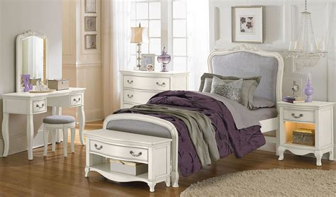 white youth bedroom furniture sets kensington antique white katherine upholstered youth panel