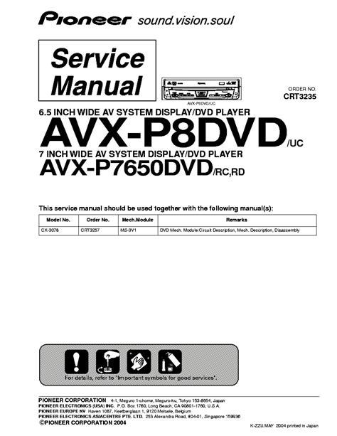 pioneer avx p7000cd wiring diagram avx free