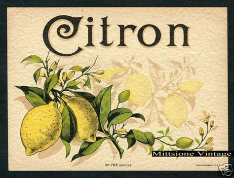 vintage french label original lithograph liquor alcohol