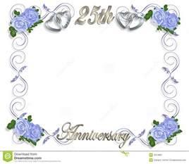 25th Anniversary Invitation Templates Free by 25th Wedding Anniversary Invitation Template