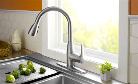 sink faucets kitchen standard 4175 300 075 colony pull