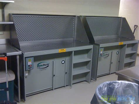 downdraft benches downdraft tables and benches dust collector systech