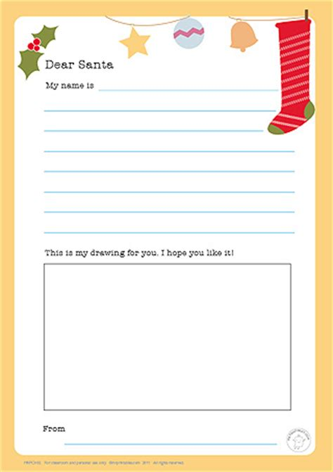 santa writing paper dear santa letter mr printables