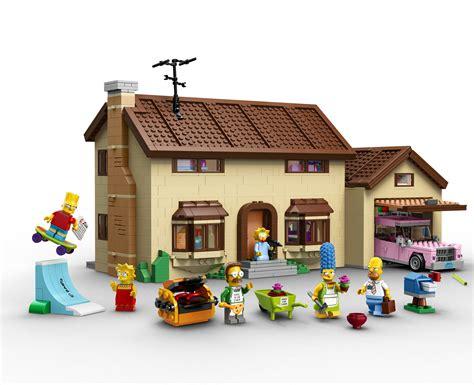 casa lego lego lanzar 225 un set de casa y personajes de los simpsons
