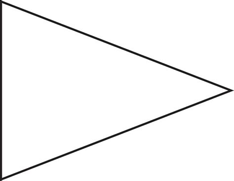 triangle banner template free clipart best