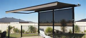 Awnings Over Doors Folding Arm Awnings Watson Blinds Amp Awnings