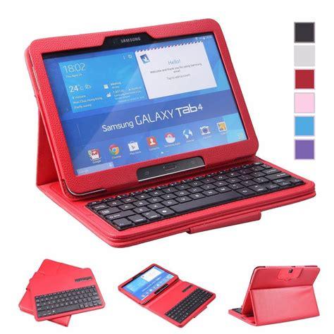 fundas para tab 4 funda con teclado para samsung galaxy tab 4 10 1 pulgadas
