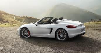 Porsche Cayman Spyder Unfiltered The New Boxster Spyder