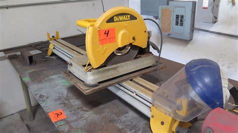 metal cutting table saw dewalt d28715 chop saw w dw723 miter saw stand