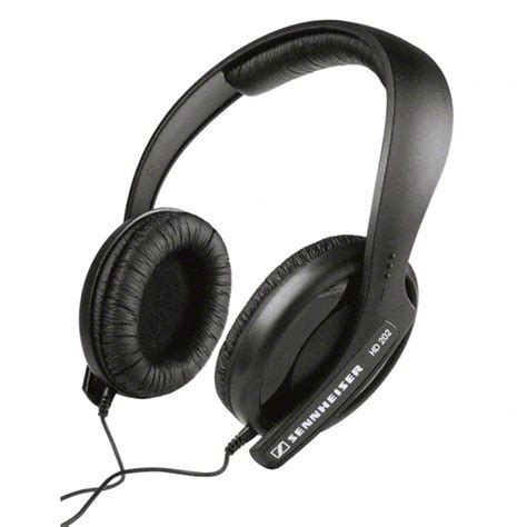 Sennheiser Hd202 Powerful Bass Headset sennheiser hd202 headphones hire rent wex rental