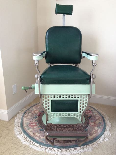 Theo A Koch Barber Chair by Original Theo A Kochs Barber Chair