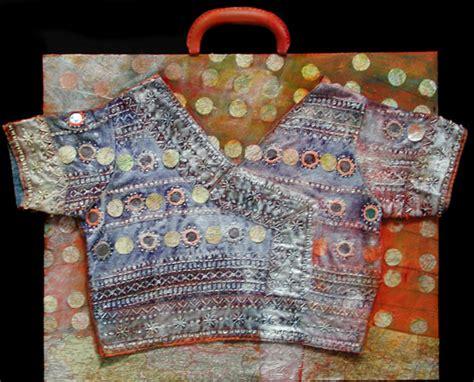 acrylic paint on clothes bonnie meltzer mixed media clothes series painting