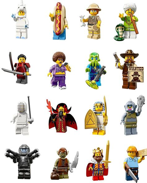 Lego Minifigure Series 13 lego collectable mini figures series 13 officially