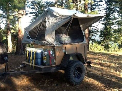 offroad teardrop cer diy off road tent trailer diy craft
