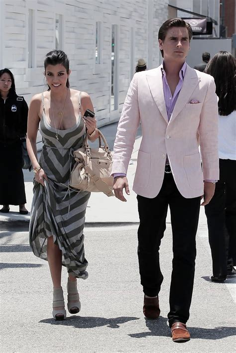 Pw Collin Brown kourtney and disick stroll along rodeo