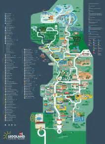map legoland florida legoland florida map 2016 on behance