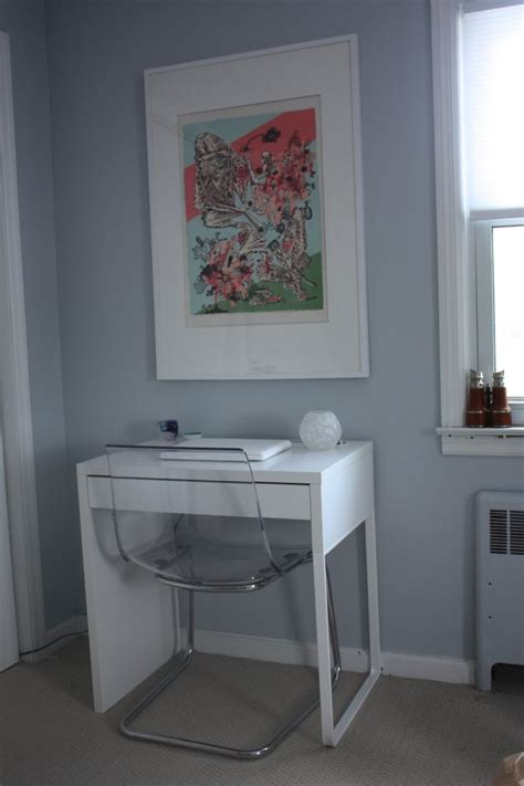 Small White Desks For Bedrooms Micke Desk 49 Tobias Chair Was 79 From Ikea Not A Hack But Looks For Cheap Ikea