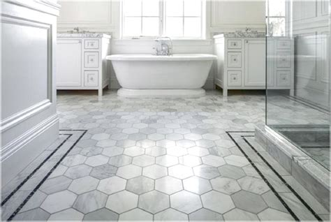 bathtub floor cool honeycomb shaped flooring tiles for white bathroom