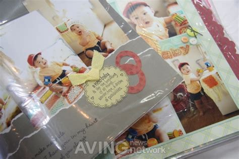 How To Make A Handmade Scrapbook Album - educare fair 2012 on site benta korea to