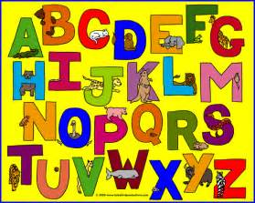 alphabets with pictures of animals on children s clothes