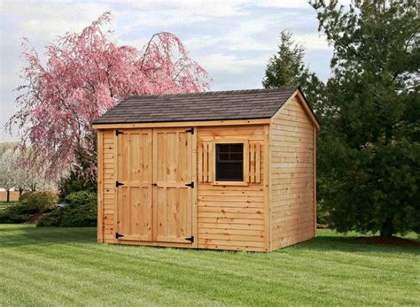 How To Build A 8x10 Shed by 8x10 Pine Clapboard Gable Style Shed Log Shed