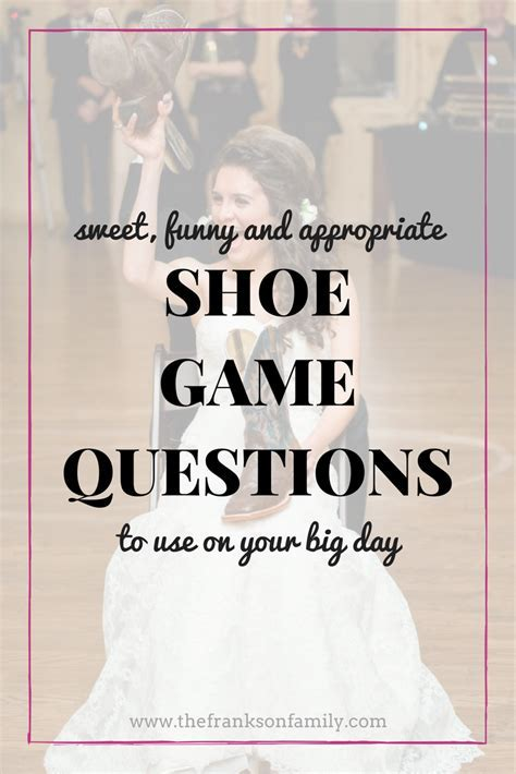 The Best Shoe Game Questions   Best of A Simplified Life