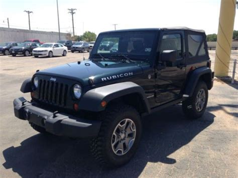 Used Jeep Wrangler Rubicon 2 Door Purchase Used 2012 Jeep Wrangler Rubicon Sport Utility 2