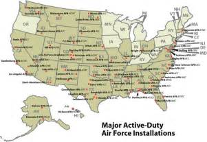 united states bases map map of air bases in united states exactly what i
