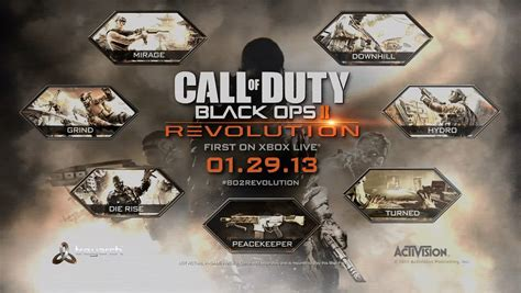 black ops map packs news call of duty black ops ii revolution dlc map