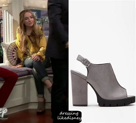 shoes lizzy wears in blacklist season2 girl meets world season 2 episode 24 maya s grey peeptoe