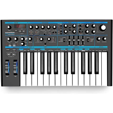 Keyboard Synthesizer Novation Bass Station Ii Analog Synthesizer Keyboard
