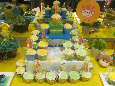 zoo baby shower decorations zoo animals baby shower ideas photo 1 of 6 catch