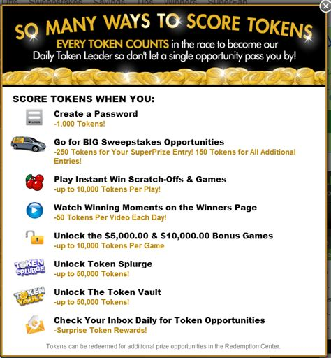 What Are Pch Tokens For - a big round of applause for pch s newest redemption center winners pch blog