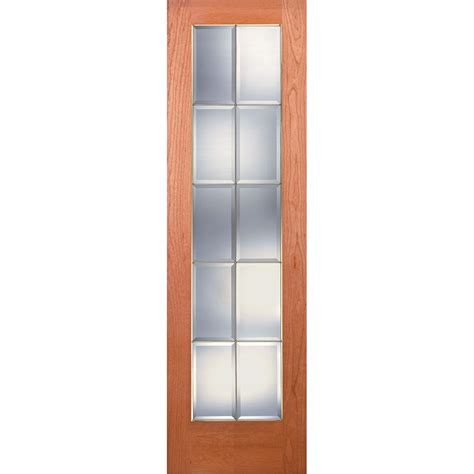 24 X 80 Pantry Door by Feather River Doors 24 In X 80 In Pantry Woodgrain 1