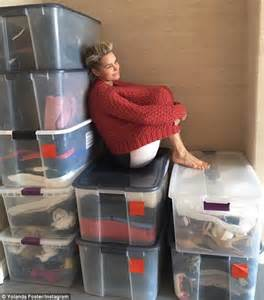 yolana foster new balance sneakers yolanda foster cleans out her closets and packs up clothes