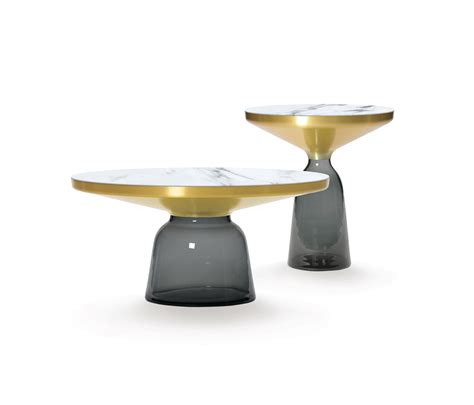 Bell Table bell coffee table steel glass blue coffee tables from