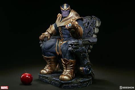 Is A Real Beast by Sideshow Thanos On Throne Maquette Is A Real Beast